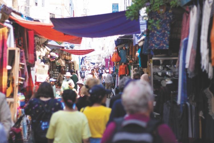 De markt in Hurghada
