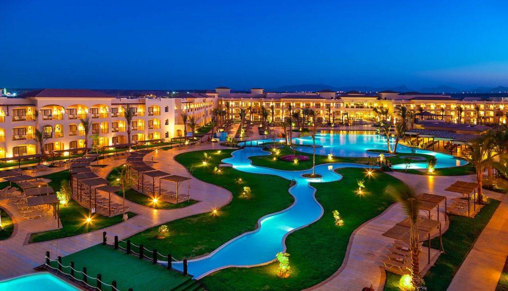 Het Jaz Aquamarine hotel in Hurghada