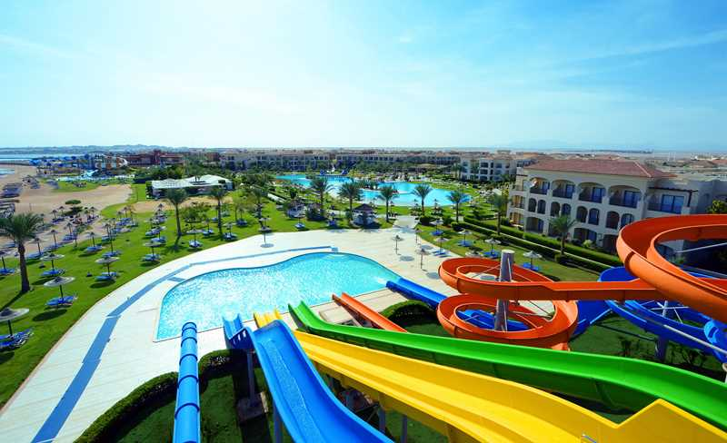 Het Jaz Aquamarine Resort in Hurghada